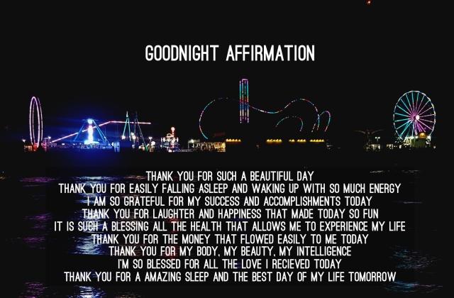 goodnight-affirmation
